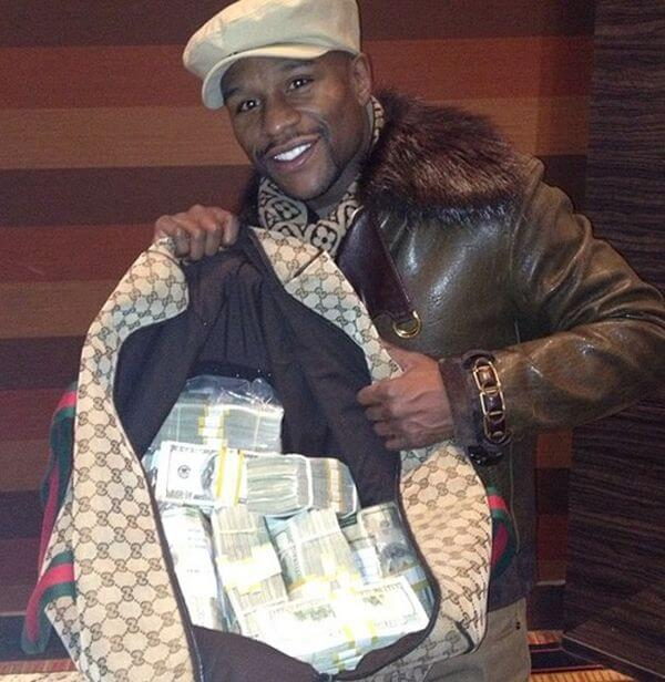 Its not like youd expect floyd mayweather jr to celebrate his birthday any other way