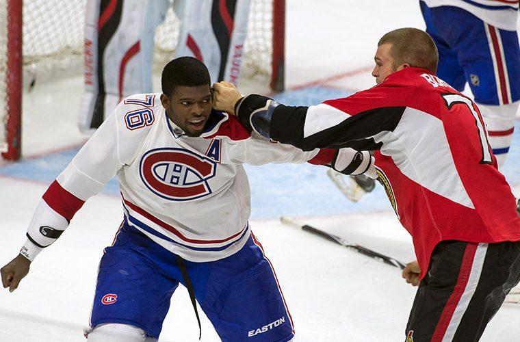 Драки НХЛ – то, за что любят хоккей в США и Канаде