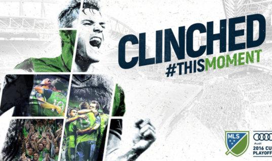 Как в Сиэтле празднуют выход в финал MLS
