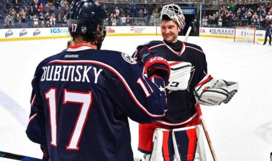 Победная серия Бобровского достигла восьми матчей