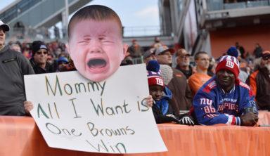 Фанаты «Браунс» хотят провести парад в честь 16 поражений в сезоне НФЛ
