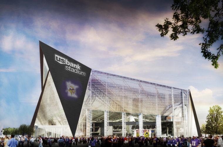 На стадионе «Миннесоты Викингз» U.S. Bank Stadium вновь проблемы