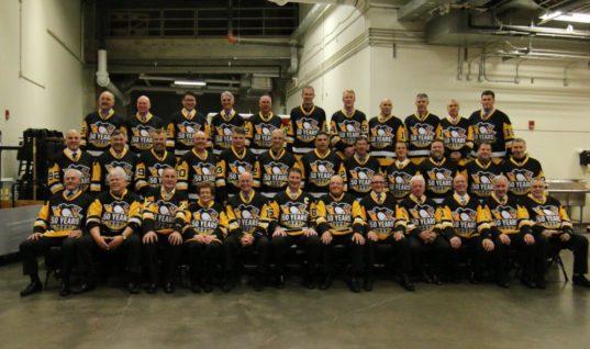 25-летие победы «Питтсбурга» в Кубке Стэнли: ветераны празднуют, Ягр играет в хоккей