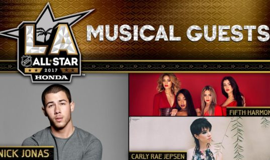 На Матче всех звёзд НХЛ выступят Ник Джонас, Fifth Harmony и Карли Рэй Джепсен