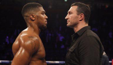 На бой Кличко – Джошуа прогноз краток: 29 апреля победит британец