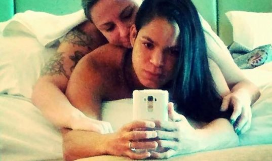 Чемпионка UFC Аманда Нуньес и ее девушка Нина Ансарофф