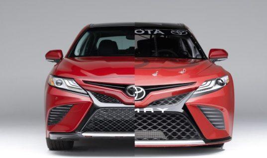 «Тойота» представила новую гоночную Camry для серии NASCAR