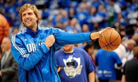 Дирк Новицки — шестой игрок в истории НБА, набравший 30 тысяч очков