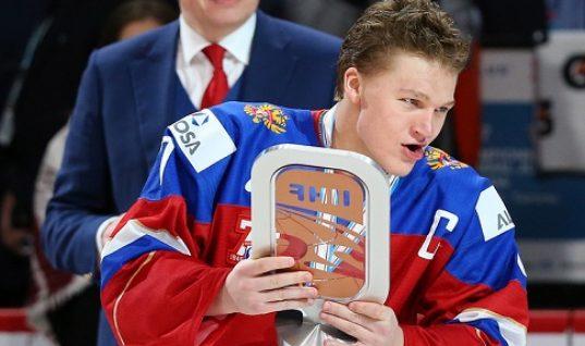 Капризова назвали самым перспективным потенциальным новичком НХЛ