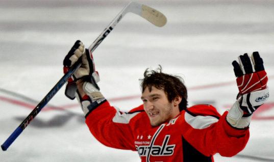 Овечкин стал третьей звездой игрового дня НХЛ