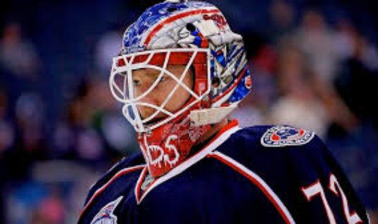 Бобровский в третий раз за март признан первой звездой дня в НХЛ