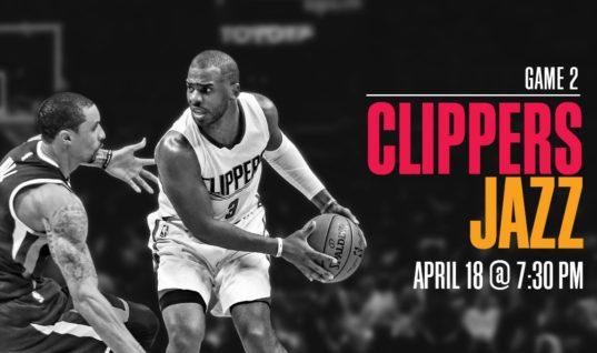Лос-Анджелес Клипперс - Юта Джаз 19 апреля