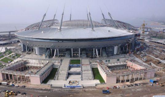 СМИ: рабы из Кореи на стройке стадиона Крестовский в Санкт-Петербурге