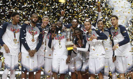 Сборная США по баскетболу: история, команды, рекорды