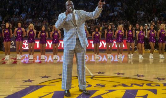 О'Нил назвал «Лейкерс» 2001 года величайшей командой в истории НБА