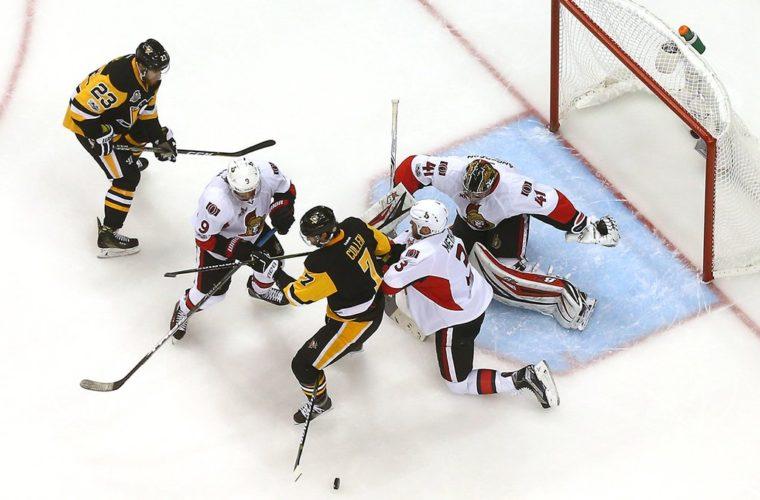 «Оттава» вышла вперёд всерии плей-офф НХЛ