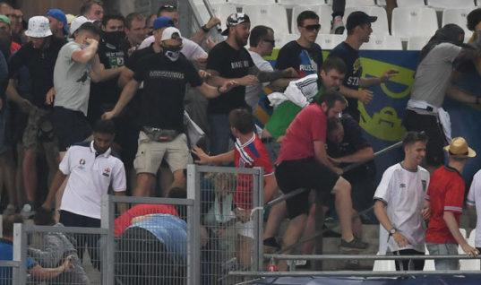 Колумнист Daily Star раскритиковал Россию за футбольный хулиганизм