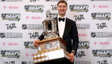 """Бобровский поблагодарил партнёров по """"Коламбусу"""" за приз лучшему вратарю НХЛ"""