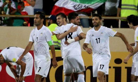 Президент Ирана поздравил футболистов с выходом на ЧМ-2018 в России