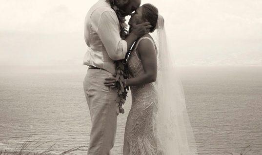 Ронда Роузи вышла замуж и опубликовала фото со свадьбы