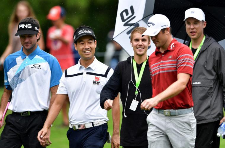 Джастин Бибер стал героем дня на турнире по гольфу