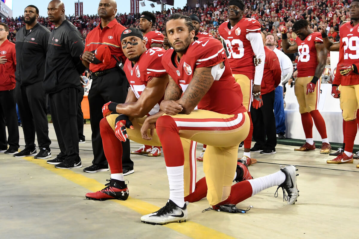 the different perspectives of cnn and fox news on the protest of colin kaepernick Colin kaepernick started protesting what he says are racist police practices and behavior by sitting during the national anthem before the kickoffs of preseason games, but as the regular season.