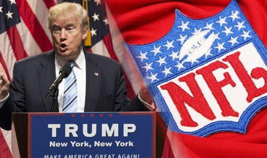 Букмекеры начали принимать ставки на конфликт Трамп – НФЛ