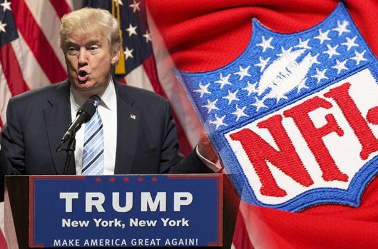 Букмекеры начали принимать ставки на конфликт Трамп — НФЛ