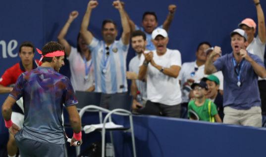 Аргентинец чуть не снялся с US Open, но болельщики вдохновили его на победу