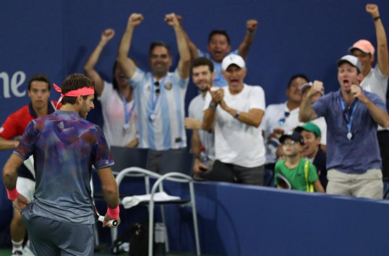 Дель Потро победил Федерера ивышел вполуфиналUS Open
