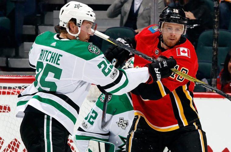 Шайба Радулова вовертайме принесла «Далласу» победу над «Ванкувером» вматче НХЛ