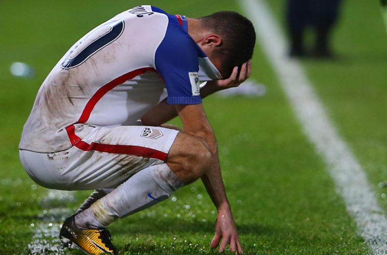 В США назвали невыход сборной на ЧМ по футболу главным провалом в истории