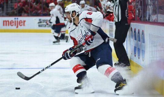 Овечкина признали одним из открытий старта сезона НХЛ