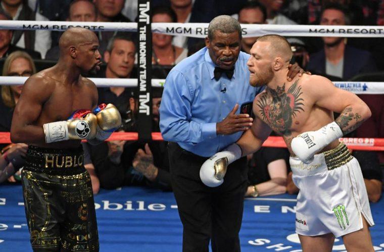 Макгрегор предложил Мейвезеру иМалиньяджи провести бой поправилам MMA