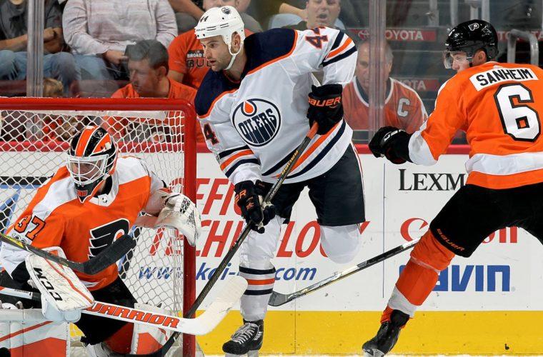 Результативная передача Слепышева помогла «Эдмонтону» обыграть «Нью-Джерси» вматче НХЛ