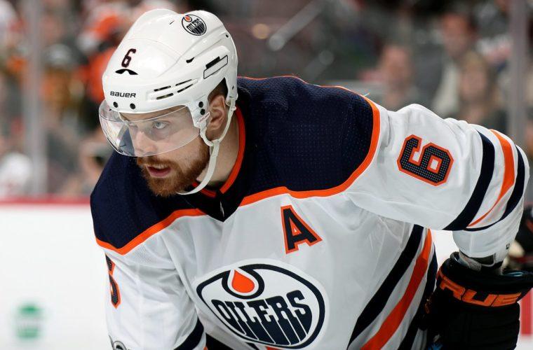 Первая шайба Слепышева всезоне помогла «Эдмонтону» побороть  «Нью-Джерси» вматче НХЛ