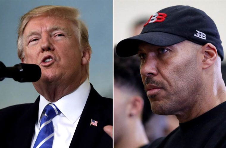 Трамп и Лавар Болл поспорили насчёт освобождения сына Болла