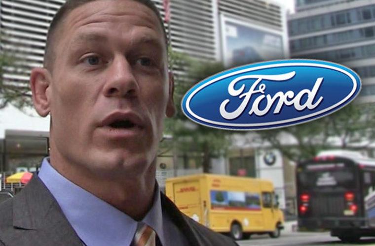 """""""Форд"""" подал в суд на знаменитого рестлера Джона Сину"""