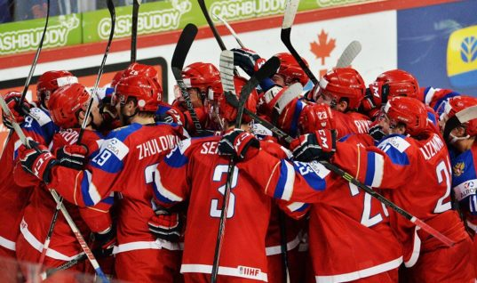 Прогноз букмекеров: Россия не входит в число фаворитов МЧМ-2018 по хоккею