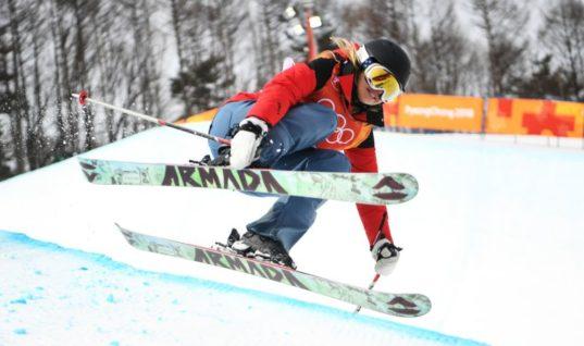 Лыжница поразила зрителей Олимпиады выступлением в хафпайпе вообще без трюков