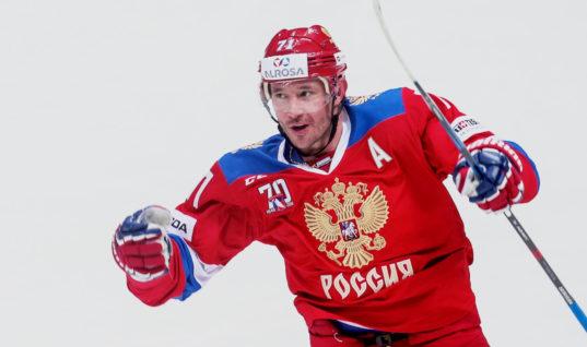 Прогноз букмекеров: Ковальчук может стать лучшим бомбардиром сборной России на ОИ-2018