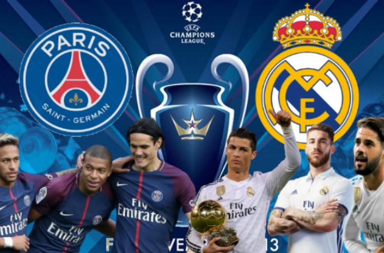 ПСЖ пройдет Реал, считают футбольные фанаты