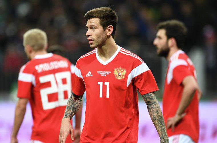 Футболисты сборной РФ проиграли Франции вконтрольном матче