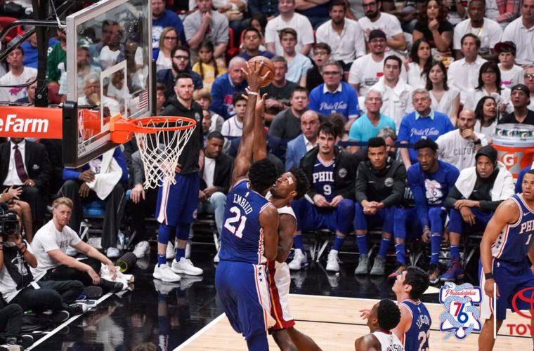 «Филадельфия» вышла вчетвертьфинал плей-офф НБА, обыграв «Майами»