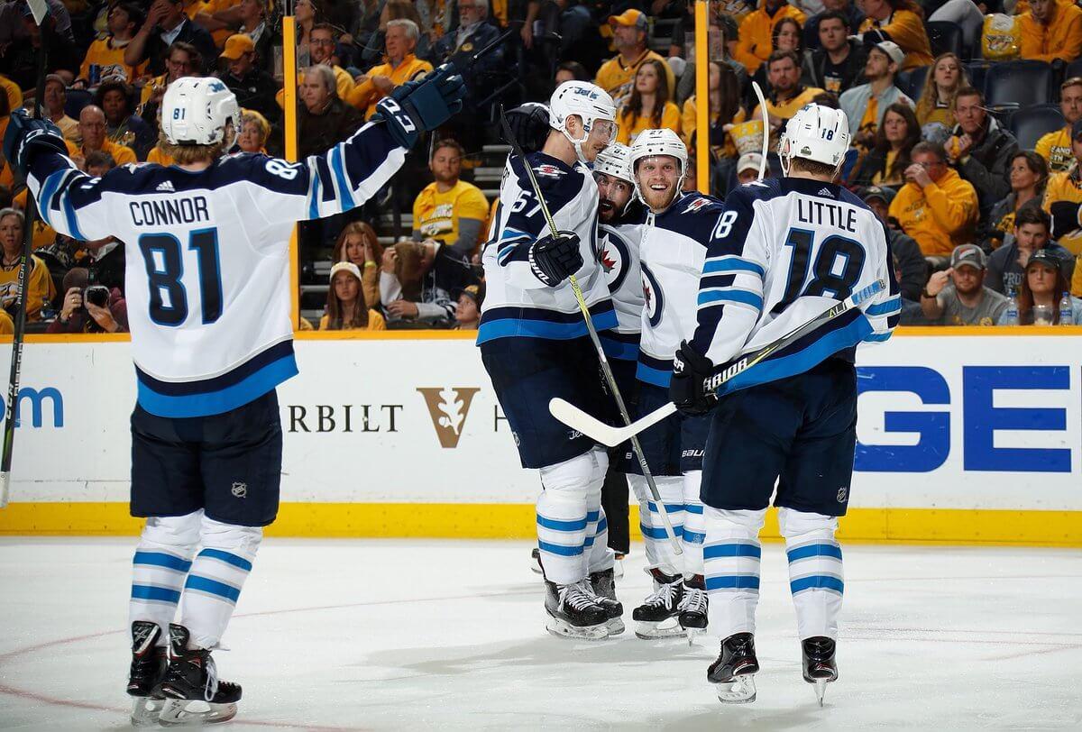 Всерии «Нэшвилла» и«Виннипега» вплей-офф НХЛ будет 7-мой матч