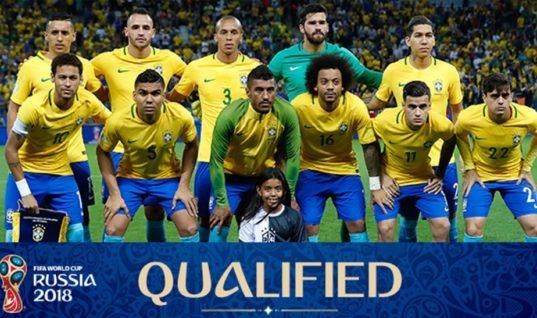 Прогноз букмекеров: сборные Бразилии и Германии главные фавориты ЧМ-2018 по футболу