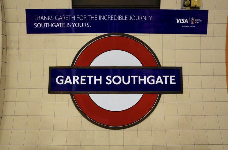 Станцию метро переименовали в честь главного тренера сборной Англии