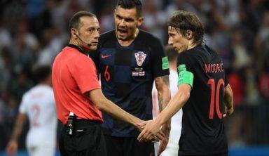 Англичане требуют дисквалификации сборной Хорватии