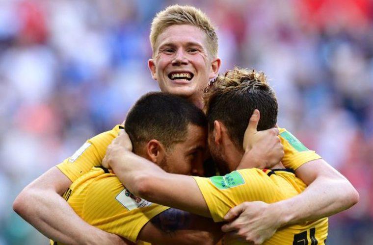 Бельгия - сильнейшая сборная мира по версии Sky Sports