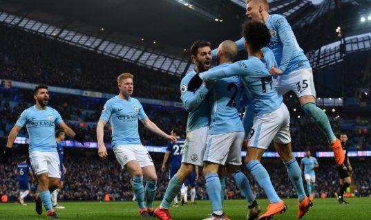 Прогноз букмекеров: «Манчестер Сити» фаворит Лиги чемпионов сезона-2018/19